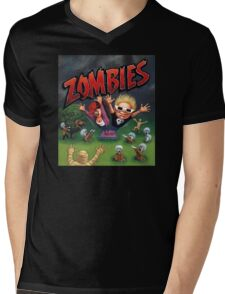 Zombies Ate My Neighbors Mens V-Neck T-Shirt