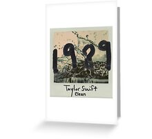 taylor Swift 1989 Clean Greeting Card