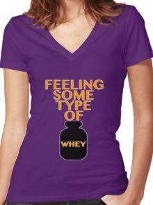 The Feeling Women's Fitted V-Neck T-Shirt