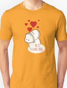 Valentine's Day is everyday. Unisex T-Shirt