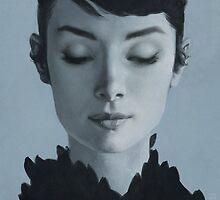 Audrey Hepburn by yurishwedoff