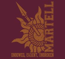 Team Martell Vertical (Gold) by Digital Phoenix Design