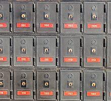 Australian post office boxes by Nils Versemann