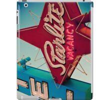 Vintage Las Vegas Starlite Motel Sign iPad Case/Skin