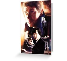 Sherlock - Hi! Greeting Card