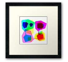 Techno Dude Framed Print
