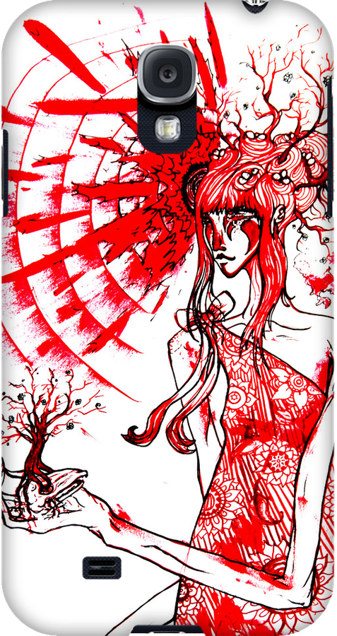 the tree gardener (red ink) by engraven