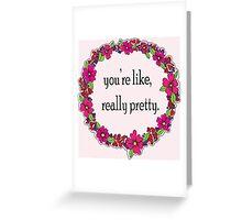 Mean Girls Valentine Greeting Card