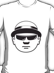 Face Hat business man T-Shirt