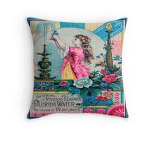 Advertising poster  Throw Pillow Throw Pillow