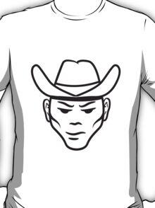 Face Hat cowboy T-Shirt