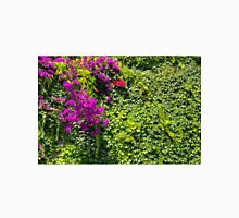 Purple Bougainvillea Greenery Unisex T-Shirt