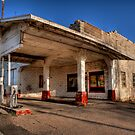 Abandoned Gas Station by K D Graves Photography