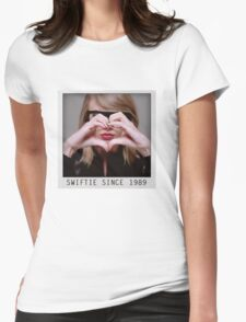 love Taylor Swift Womens Fitted T-Shirt