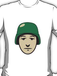 Face helmet soldier T-Shirt