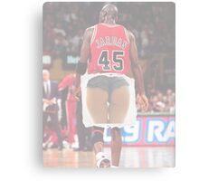 Jordan squats Canvas Print