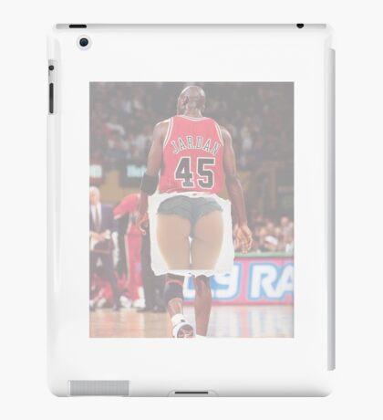 Jordan squats iPad Case/Skin