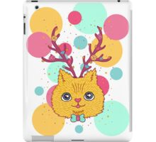 summer cat iPad Case/Skin