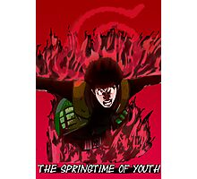 Might Gai - The Springtime of Youth! Photographic Print