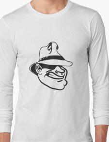 Face gangster Hat Long Sleeve T-Shirt