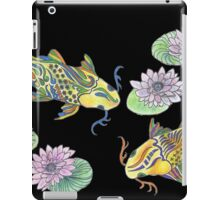 Koi Fish--Black iPad Case/Skin