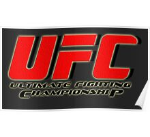 UFC - Ultimate Fighting Championship Poster
