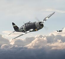P47G - Thunderbolt    Combat Pair by Pat Speirs
