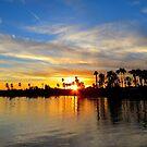 Arizona sunset  by Christine Ford