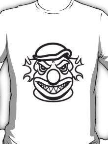 Face evil clown T-Shirt