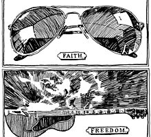 Faith and Freedom by El Rey