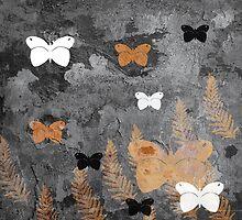 Wild butterflies by dominiquelandau