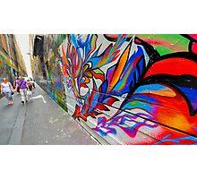 Alley Graffiti Photographic Print