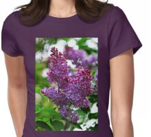 Love And Lilacs Womens Fitted T-Shirt