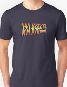 BTTF in Metric Unisex T-Shirt