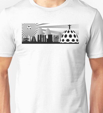 Rio de Janeiro skyline Unisex T-Shirt