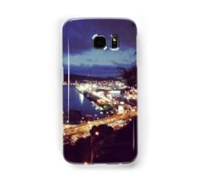 Lights over harbour Samsung Galaxy Case/Skin