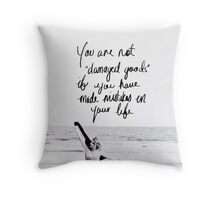 Taylor Swift Clean Speech Quote Throw Pillow