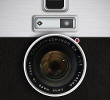 Vintage Camera - for Samsung Galaxy by BGWdesigns