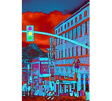 Downtown Prescott Arizona  Photographic Print