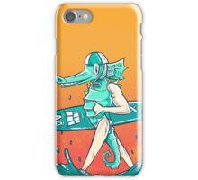 Gnarly Seashorse iPhone Case/Skin