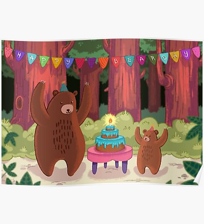 Happy Bear-day! Poster