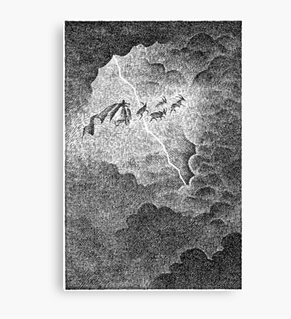 Thor's Flight Canvas Print