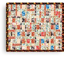 Cool patchwork country style gifts  Canvas Print