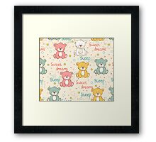 Sleeping bear  Framed Print