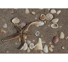 Marooned on the Beach Photographic Print