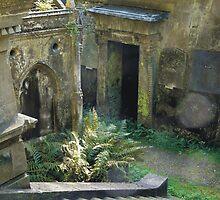 Highgate Cemetery Stairway to Heaven by himmstudios
