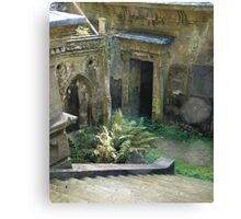 Highgate Cemetery Stairway to Heaven Canvas Print
