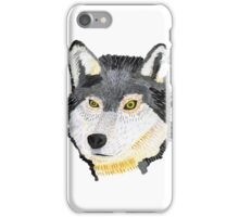 Pencil Wolf iPhone Case/Skin