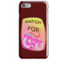 WATCH OUT!!! iPhone Case/Skin