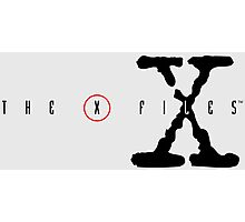 X-Files Photographic Print